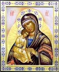 Чудотворна икона пресвете Богородице у манастиру Миасинском