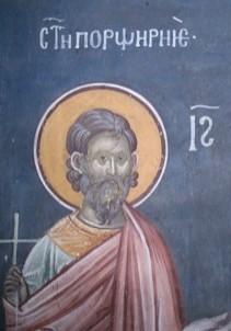 Свети мученик Порфирије глумац