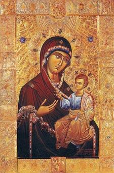 Долазак Иверонске иконе Пресвете Богородице у Грузију