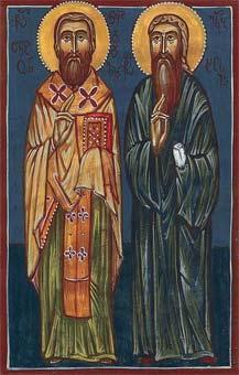 Свети Антоније метрополита кондидски и ученик његов монах Јаков Старији