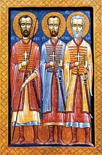 Свети мученици Елисбар и Шавле