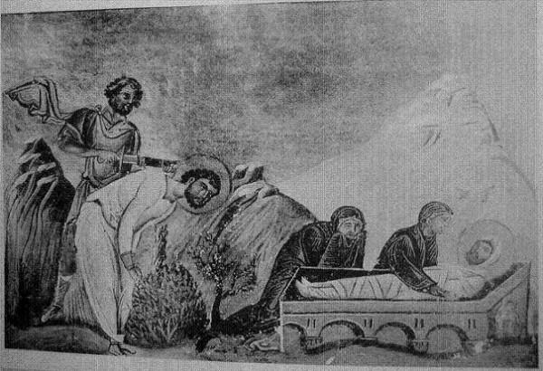 Свети мученик Давикт и кћер његова Капистенила