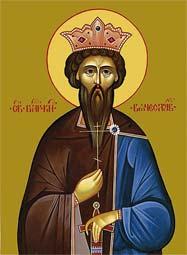 Свети мученик Вацлав, краљ чешки