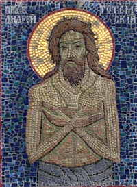 Свети преподони блажени Андреј тотемски, Христа ради сулуди