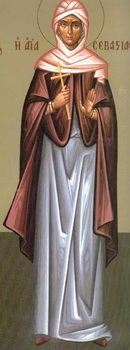 Света мученица Севастијана