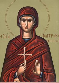 Света преподобна Матрона хиоска