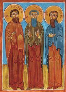 Свети и праведни Јован, Стефан и Исаија грузијски