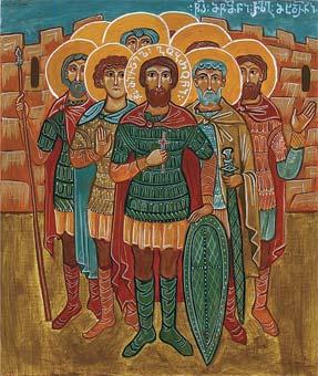 Свети мученици Гоброн (Михаило) и осталих 133 војника с њим