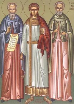 Свети мученици Гурије, Самон и Авив