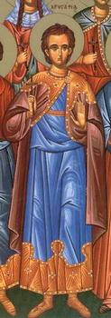Свети мученици Валерије и Хрисафије