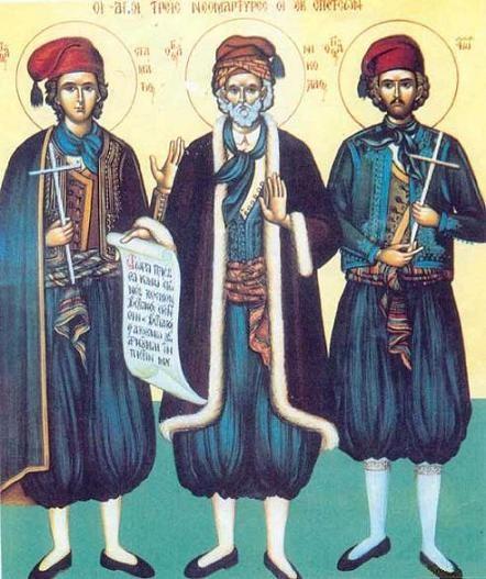 Свети мученик Никола Хиоски