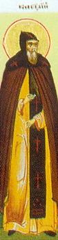 Свети преподобни мученик Јаков са ученицима Јаковом и Дионисијем