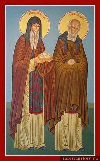 Свети преподобни Спиридон и Никодин