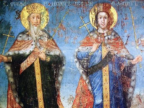 Света преподобна Ангелина и свети Јован деспот
