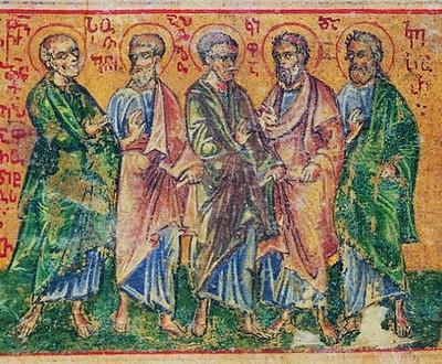 Свети апостоли Состен, Аполос, Тихик, Епафродит, Онисифор, Кифа и Кесар