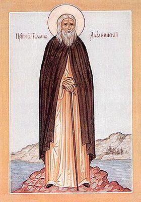 Свети преподобни Герман, аљаски чудотворац
