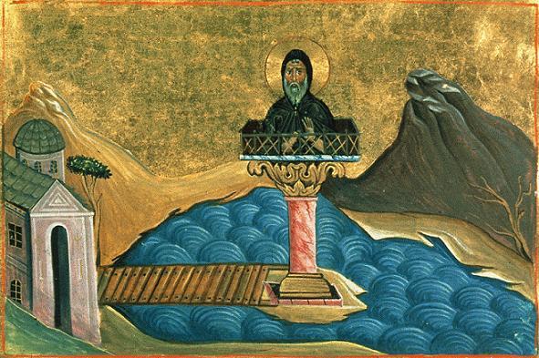 Свети преподобни Теодул Кипранин