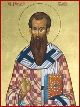 Свети Василије Велики, архиепископ кесаријски