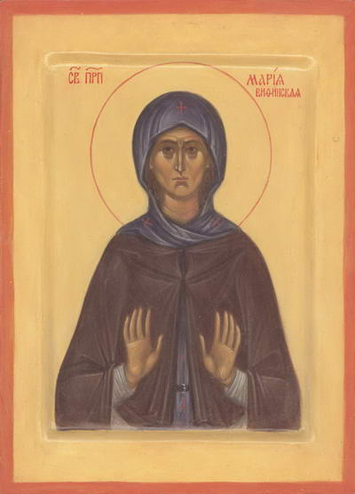 Света преподобна Марија
