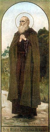 Свети преподобни Исакије, затворник печерски