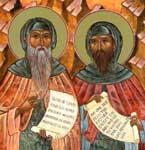 Свети преподобни Варсонуфије и Јован