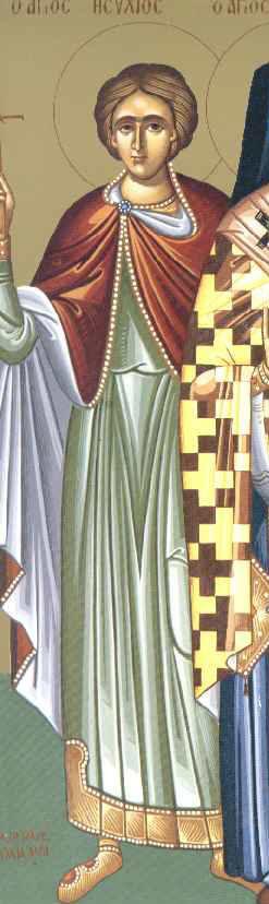 Свети мученик Исахије сенатор
