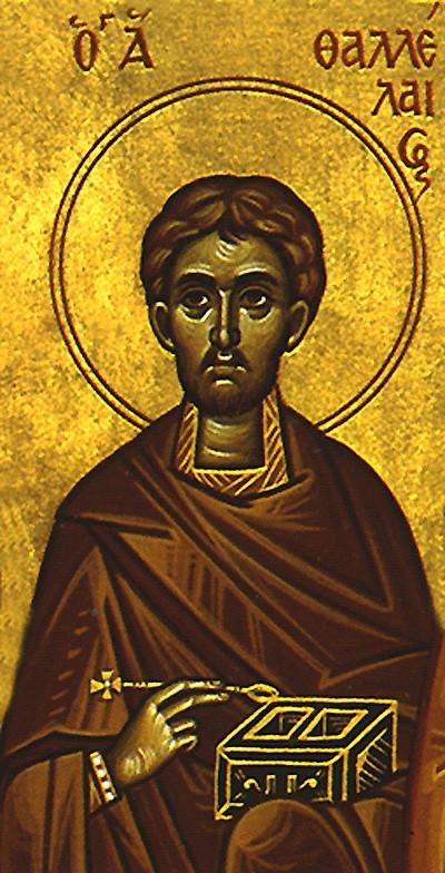 Свети преподобни Талалеј, испосник сиријски