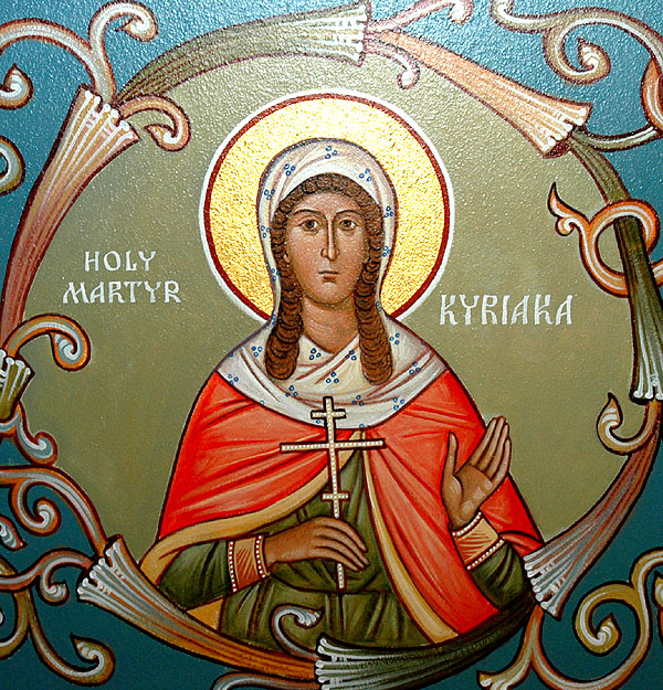 Свете мученице Анатолија, Фота, Фотида, Параскева и Киријакија