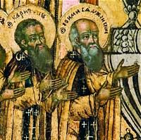 Свети преподобни Јевтимије иХаритон Сјанжемски
