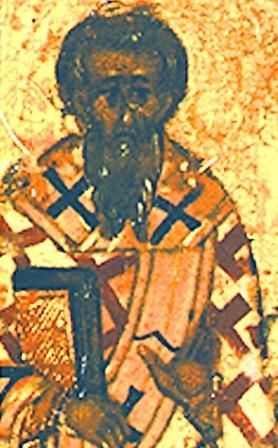 Свети преподобни Кирил, епископ катански, у Сицилији
