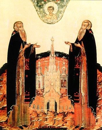 Свети преподобни Зосима, игуман Соловецки