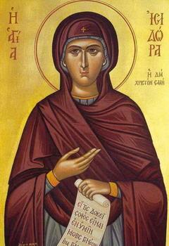 Света реподобна Исидора Јуродива