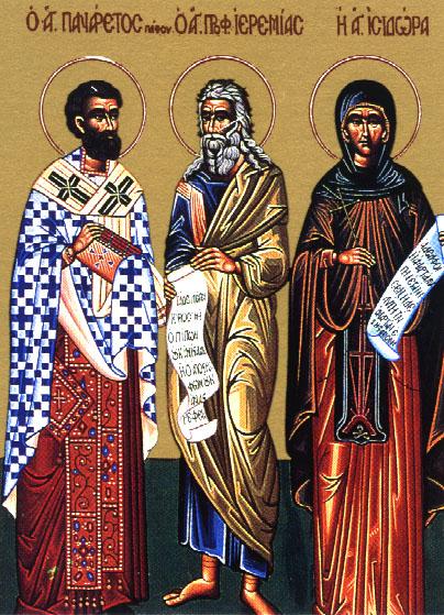 Свети Панарет, епископ града Пафа на Кипру