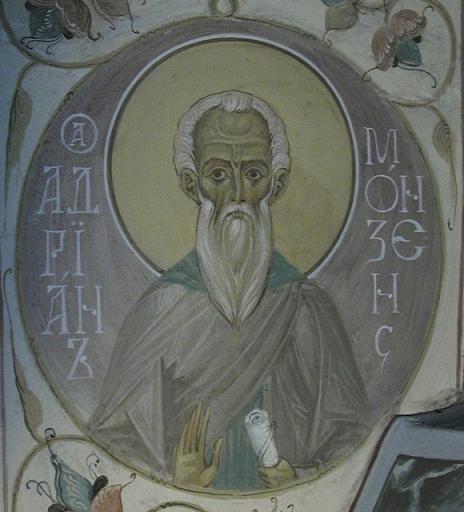 Свети преподобни Адријан Монзенски