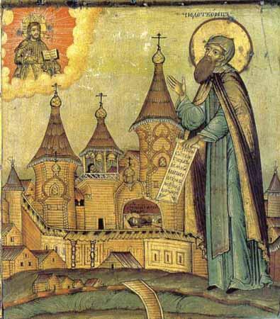 Свети преподобни Александар Ошевенски