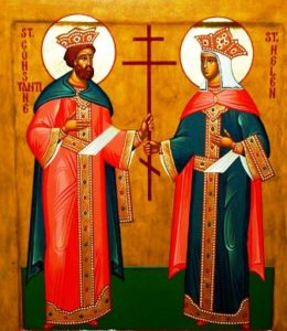 +++ Свети цар Константин и царица Јелена