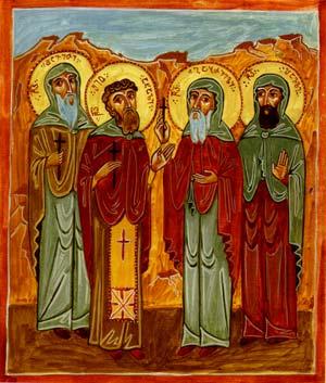 Свети мученици Шио Нови, Давид, Гаврил и Павле 1696)