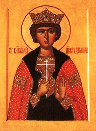 Свети мученик Димитрије, царевић руски