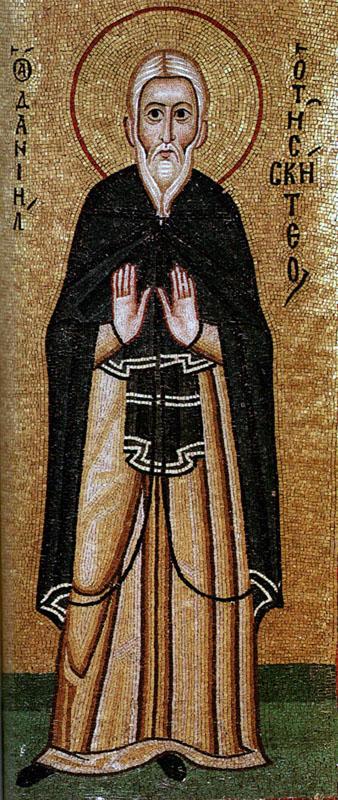 Свети преподобни Данил Скитски