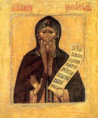 Свети преподобни Никита Столпник