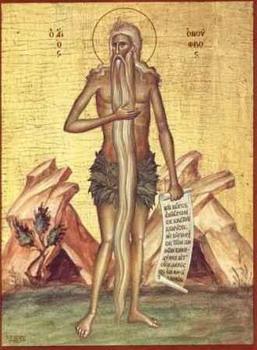 Свети преподобни Онуфрије Велики