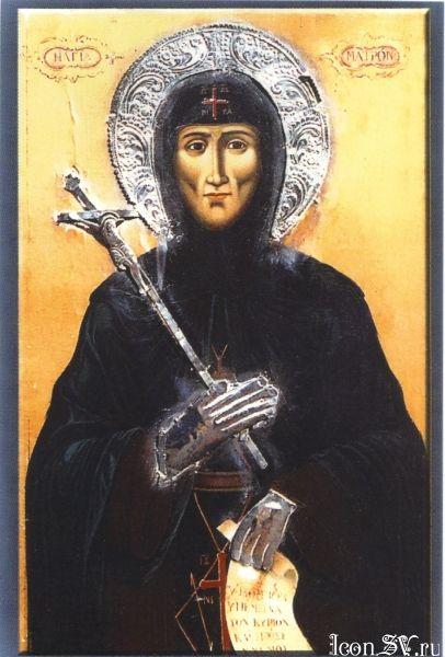 Спомен налаза чесне главе преподобне Матроне, Хиополитисе