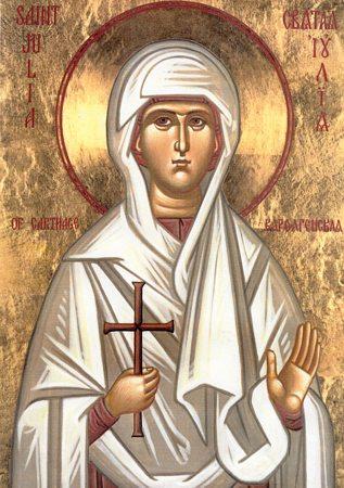 Света мученица Јулија, девица