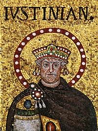 Свети блажени Јустин II Нови, цар Грчки