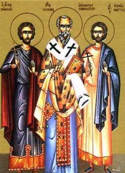 Свети мученик Зинон и Зина
