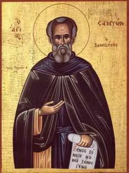 Свети преподобни Сампсон Странопримац