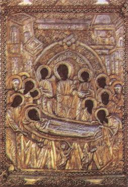 Чудотворна икона Пресвете Богородице у манастиру Малеви на Пелопонезу