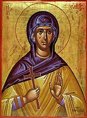 Пренос моштију свете преподобномученице Евдокије