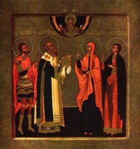 Света преподобна Евпраксија, девица