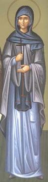 Света преподобна Теоклита чудотворка